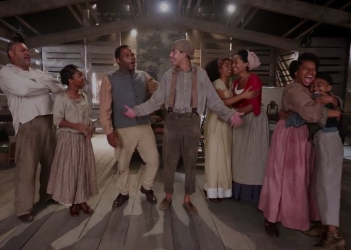 Watch Black-ish's scathingly funny Juneteenth musical number from the Season 4 premiere: https://t.co/k8HPGdhn3o