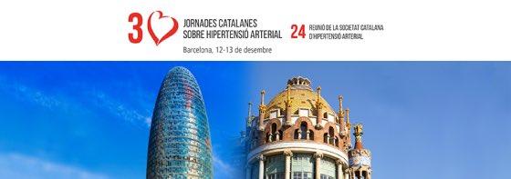 Resultado de imagen de 30 jornades catalanes hipertensió arterial