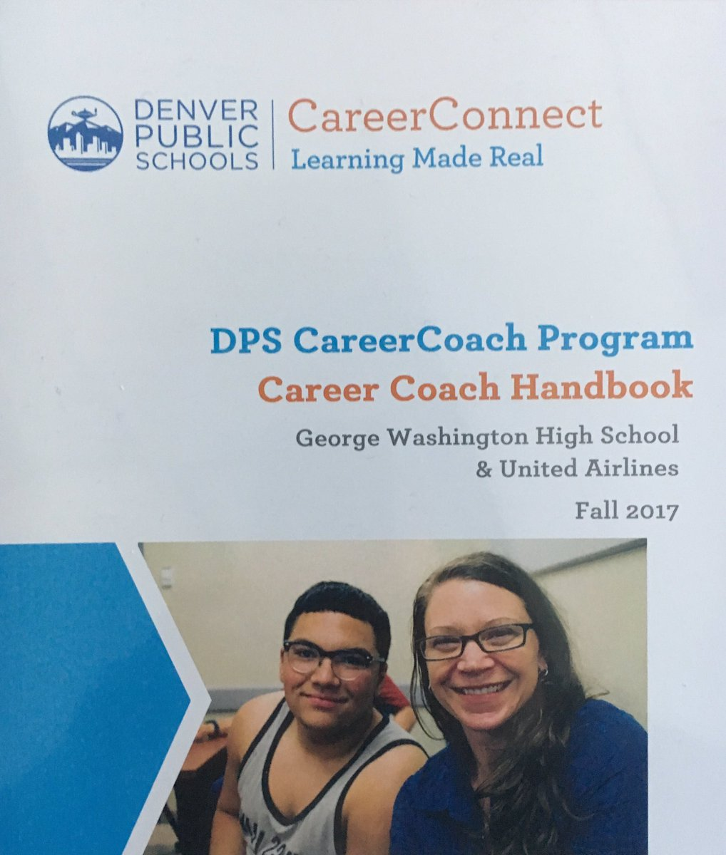 DEN United partnering with Denver Public Schools in the Career Connect Program! Excited to be a Career Coach! @Steveatunited @AllisonBudd2