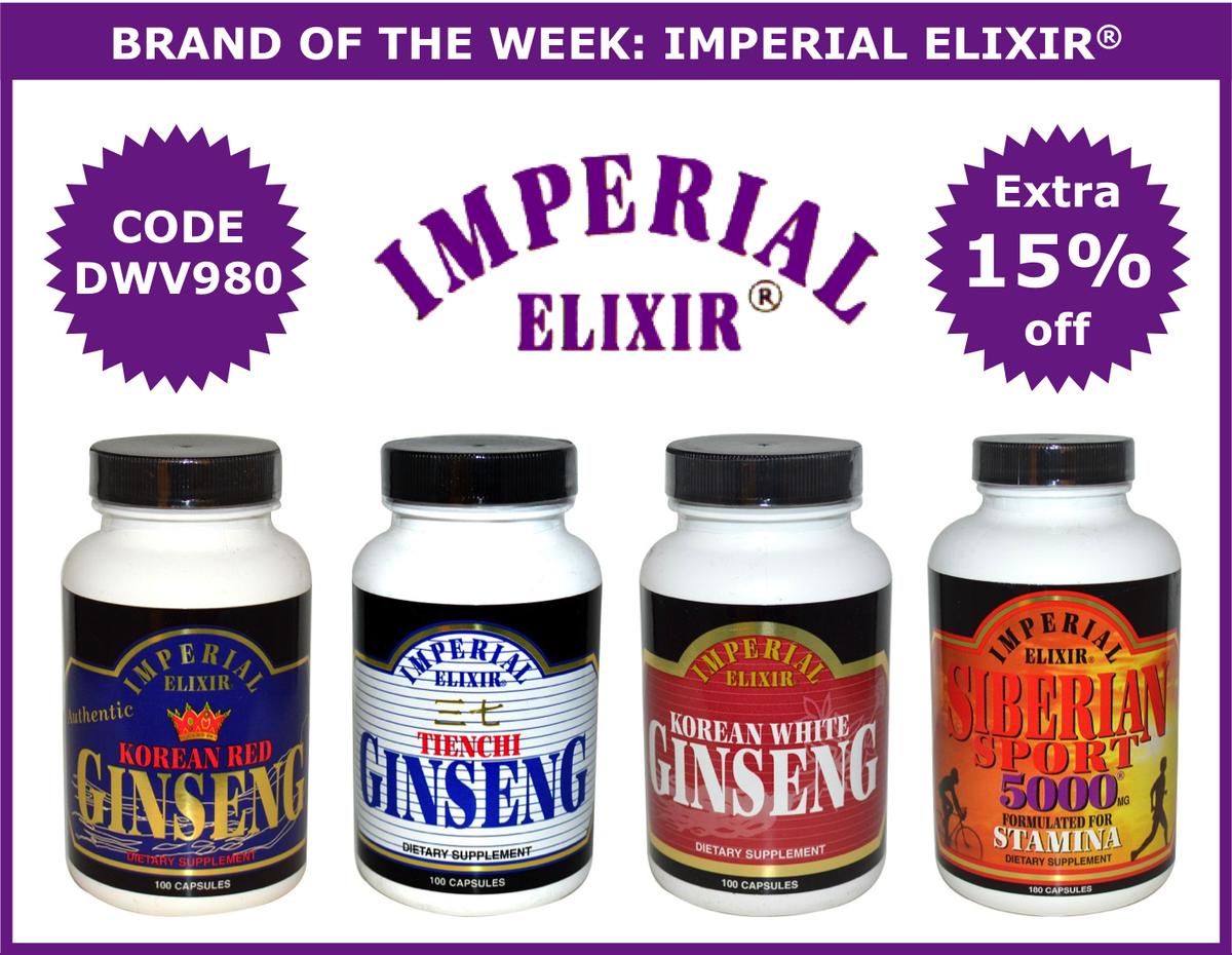 Extra 15% off #ImperialElixir -  https://www. iherb.com/c/imperial-eli xir?rcode=DWV980 &nbsp; …  Ends 10/11 10:00 am PT Use code DWV980 #iHerb #Ginseng #RoyalJelly #Supplements<br>http://pic.twitter.com/jVH00QzDEl
