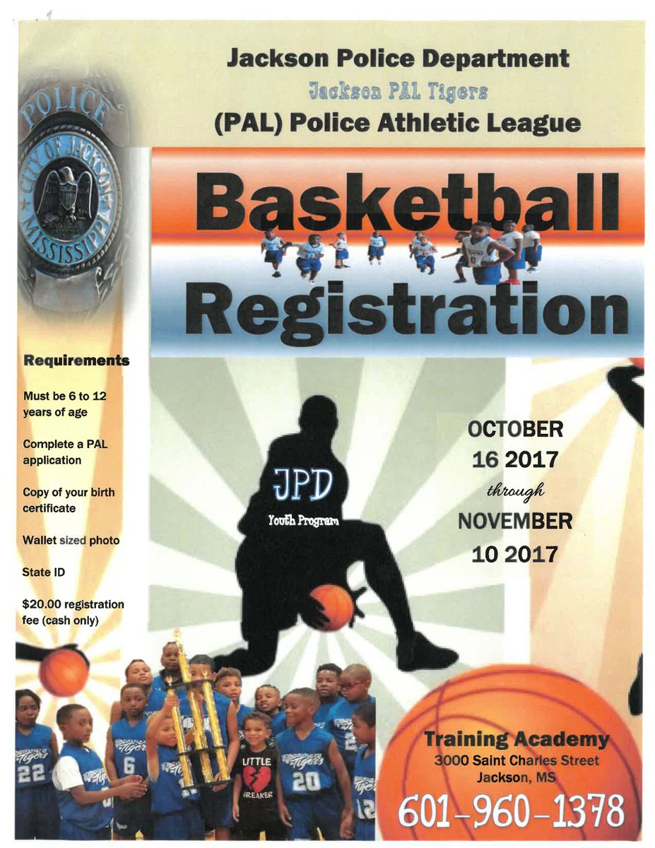 Jackson Police Dept On Twitter Jpd Pal Police Athletic League