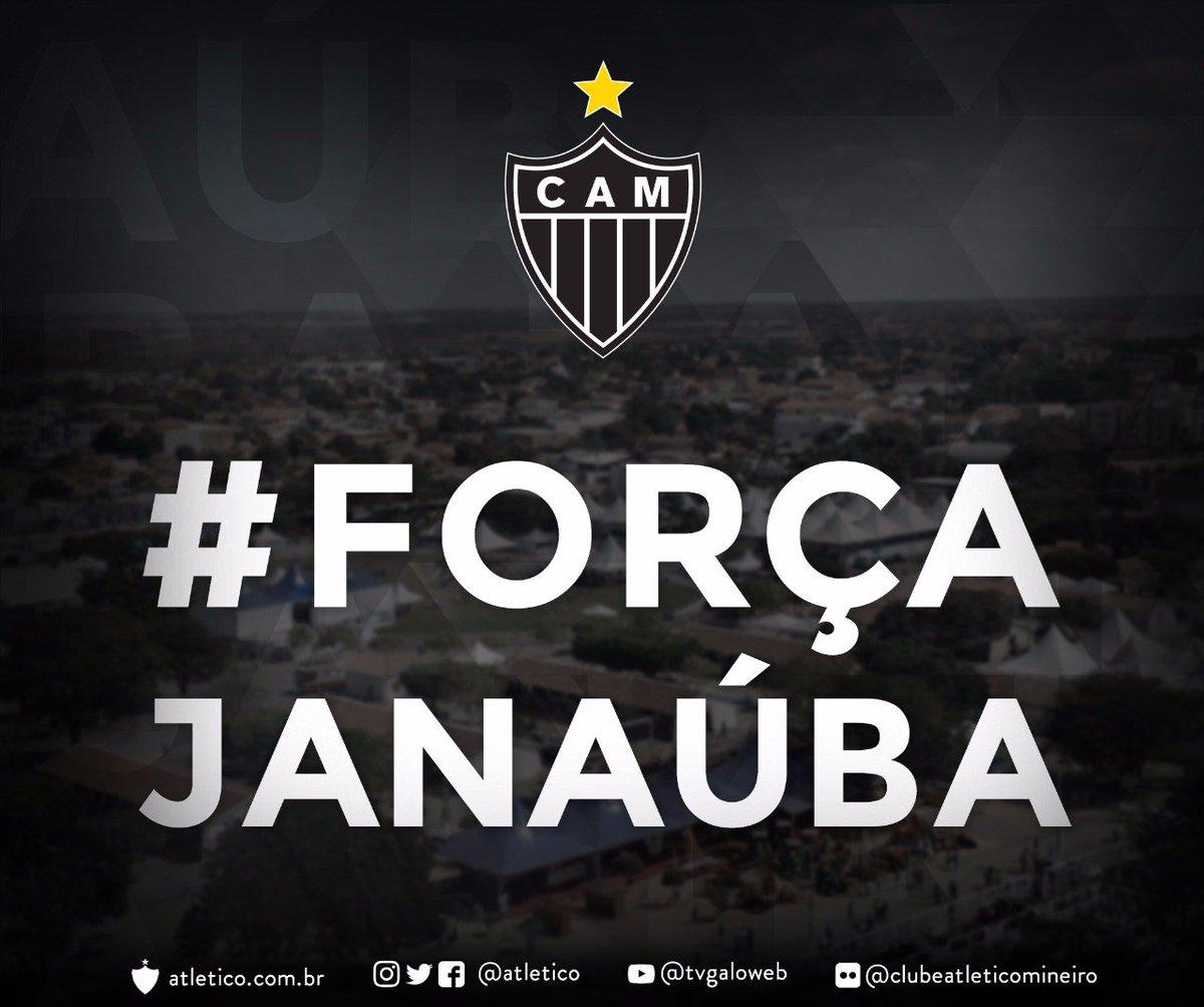 Com votos de pronta recuperação aos feridos, o Clube Atlético Mineiro se solidariza às vítimas e seus familiares pela tragédia ocorrida nesta quinta-feira, no Centro Municipal de Educação Infantil Gente Inocente, em Janaúba (MG). #ForçaJanaúba