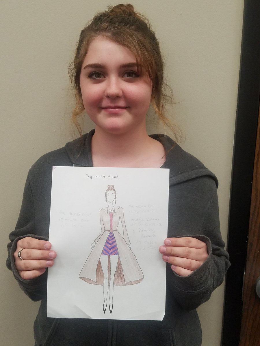 Elizabeth Kieffer On Twitter Congratulations To Sarah Wakeen In 3rd Block For Her Win With Her Fashion Design On The Balance Principle Bettpride Https T Co 2p47g0mq54