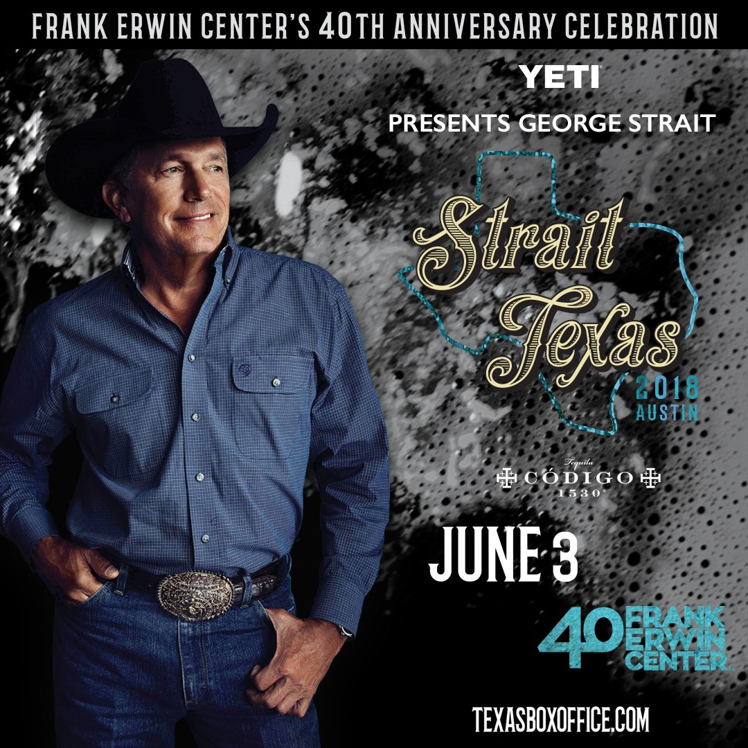 George strait on twitter were excited to celebrate erwincenter40 116 pm 5 oct 2017 m4hsunfo Gallery
