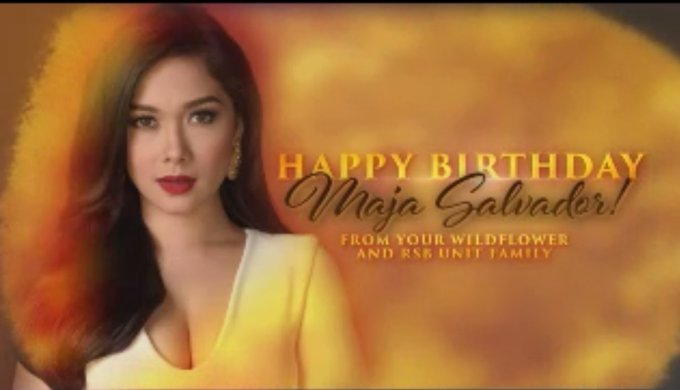 Happy Birthday Maja Salvador.