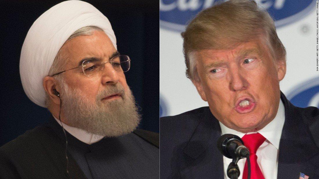 """Resultado de imagen para Trump planea """"descertificar"""" el acuerdo nuclear con Irán"""