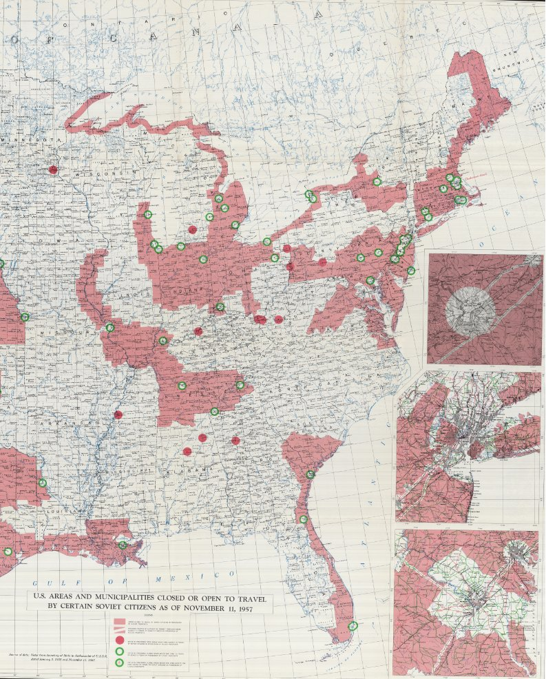 A View Of Post Stalin U S Soviet Diplomacy Courtesy Of Cold War Era Maps
