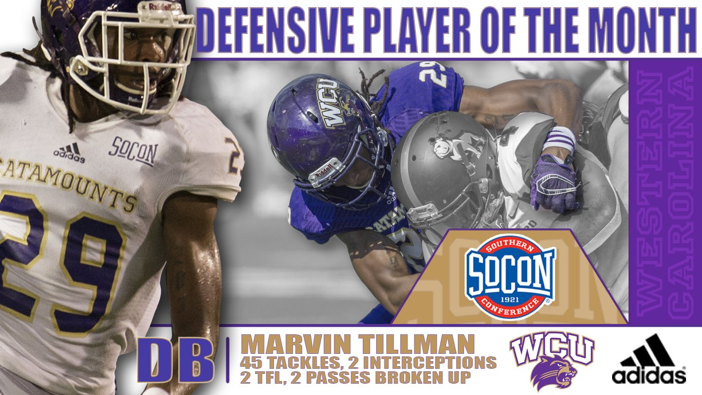 Defensive Player of the Month - Tillman