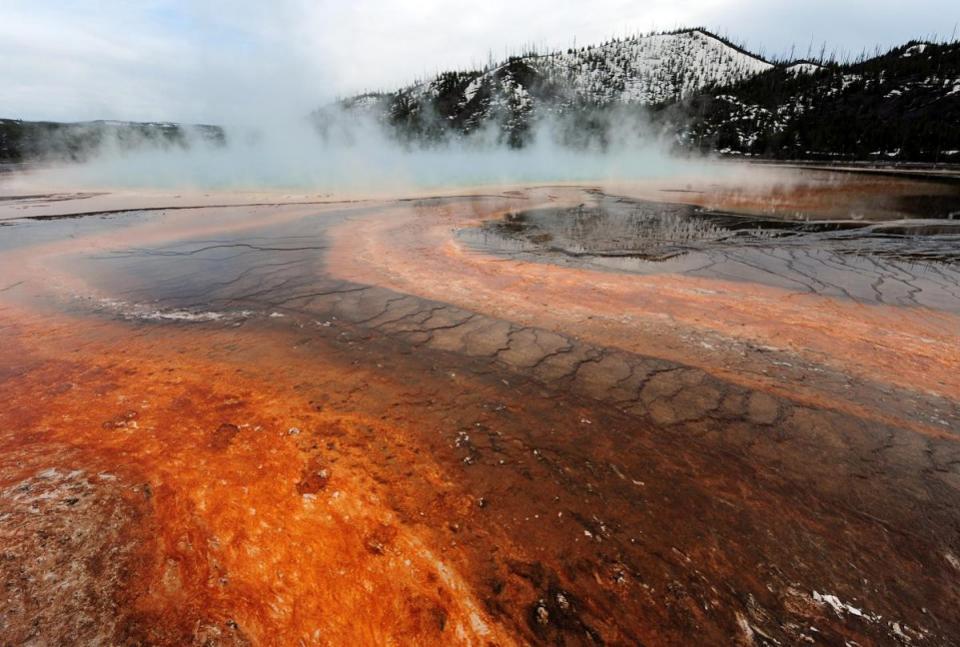 йеллоустонский вулкан сегодня