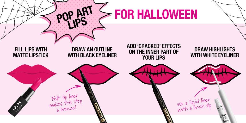 Priceline Australia On Twitter Loving This Super Easy Pop Art Tutorial For A Low Key Halloween Look