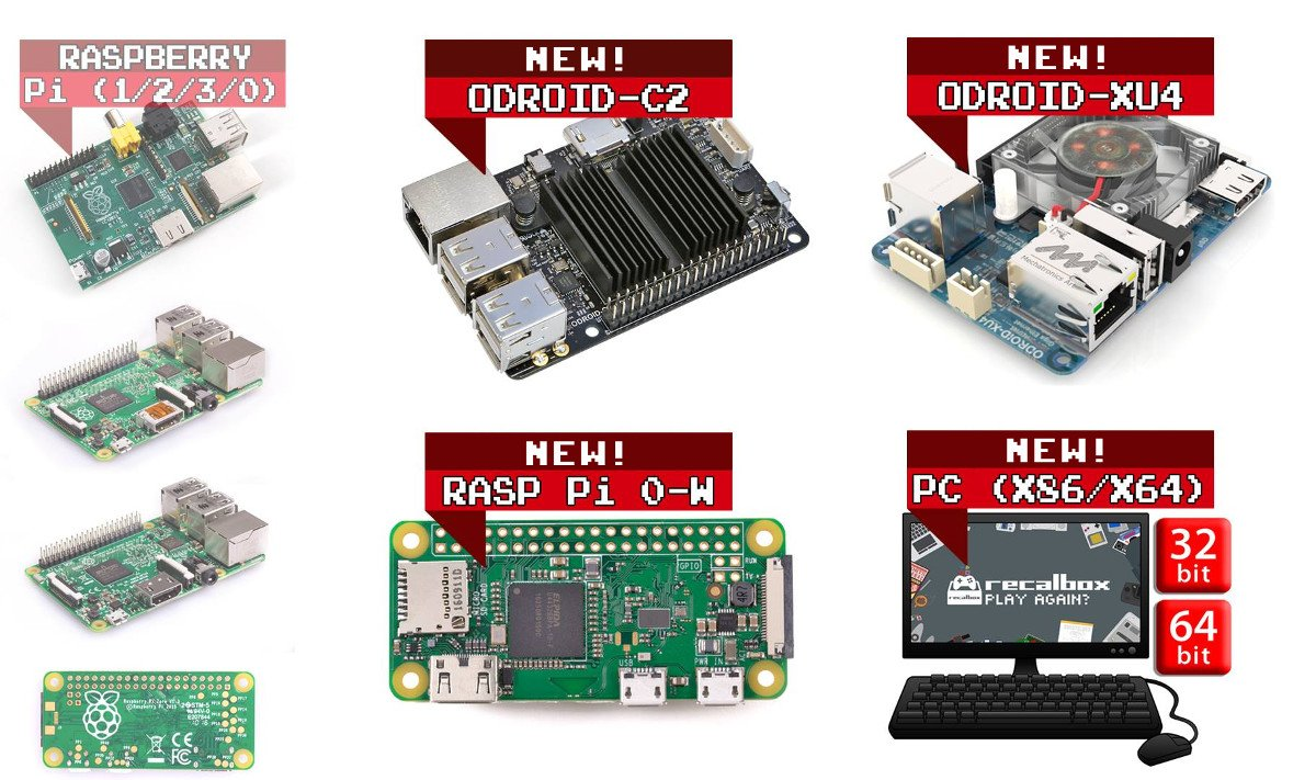 Recalbox [6 1 Beta 3 on GPi Case available!] on Twitter: