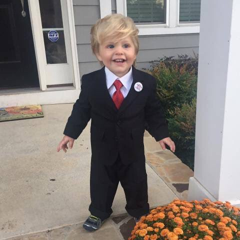 Guess who he is for Halloween! 🇺🇸🇺🇸 http...