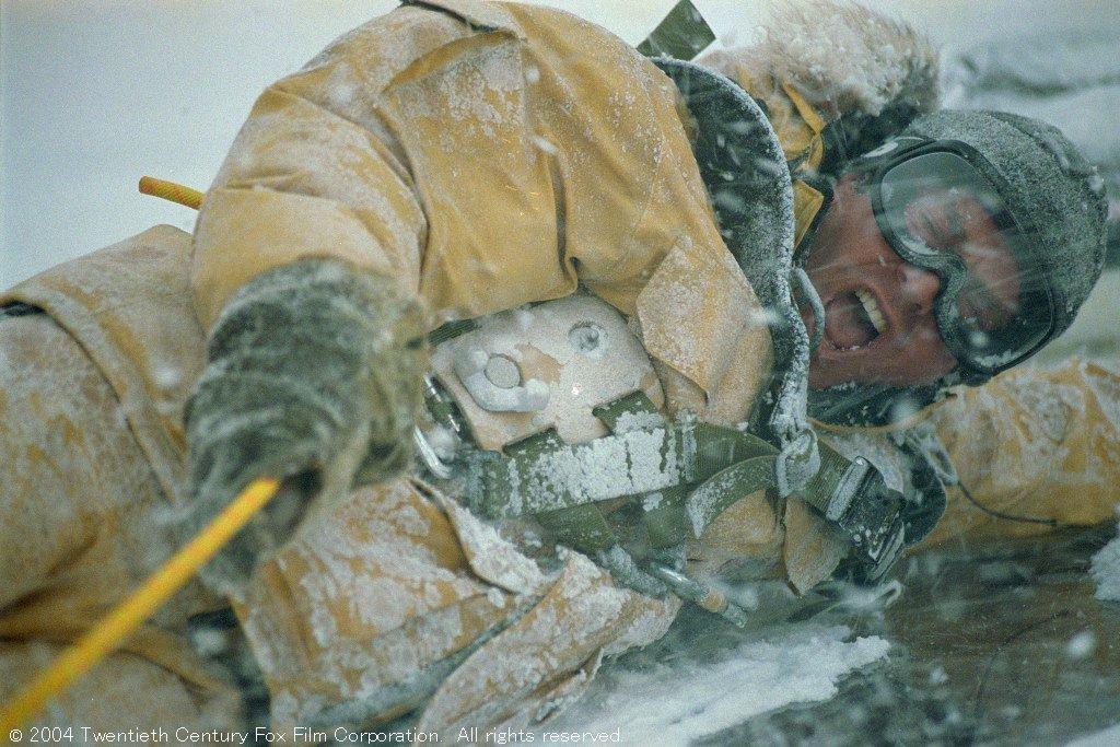 今夜は「デイ・アフター・トゥモロー」☃️今日は東京も寒くなりましたね…😨今作は寒そうな映像も多いです…