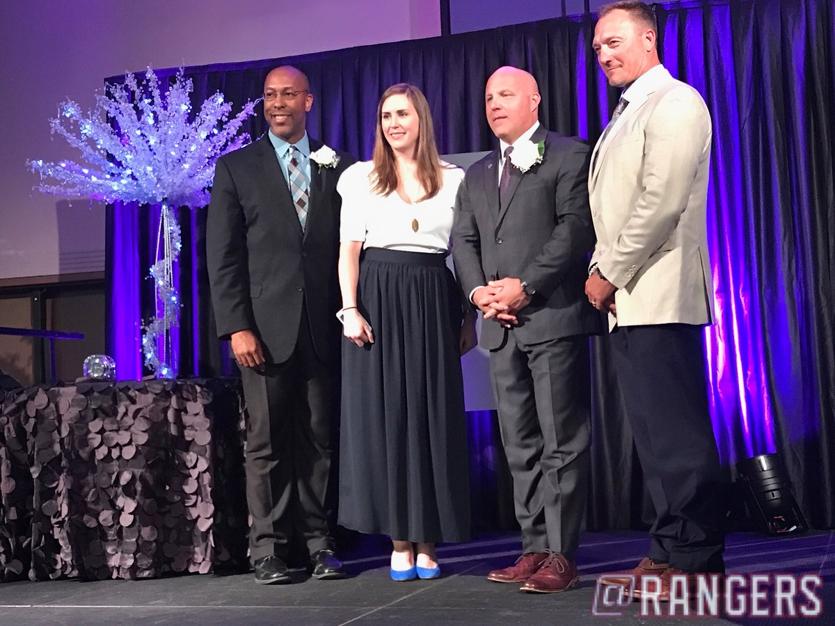 Congrats to @Bannyrooster28 on being inducted to the LaMarque Legacy Hall tonight! #NeverEverQuit <br>http://pic.twitter.com/OT775041pJ