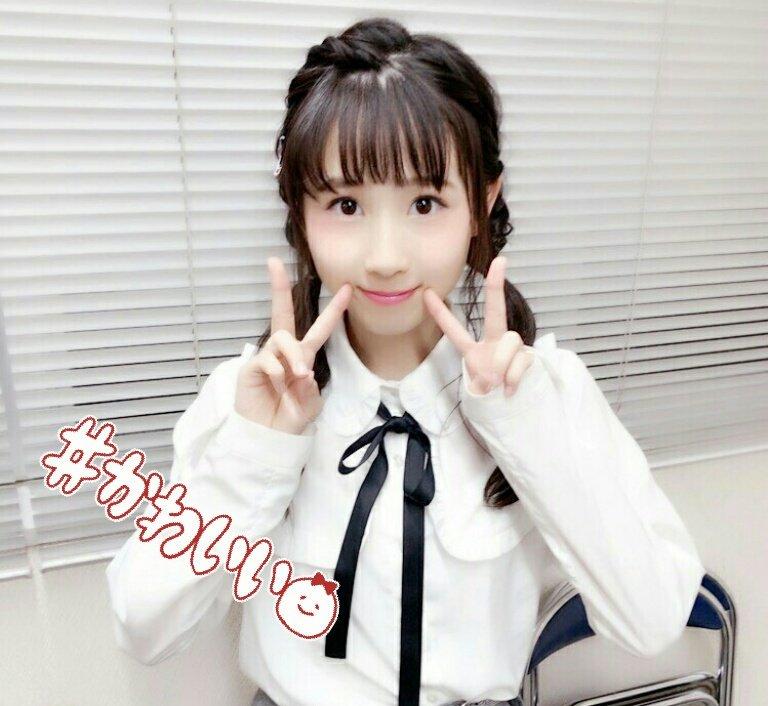 2人目は、チームSに昇格したばかりの 井上瑠夏ちゃん16歳🎵🎵 早速、可愛さ爆発してますね💛💛💛 る…