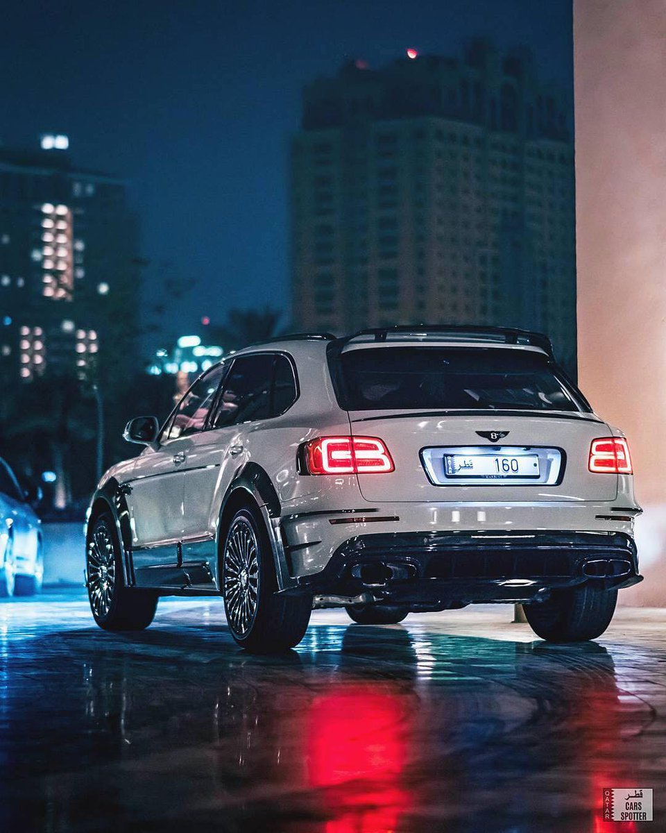 Cars سيارات On Twitter Mansory Bentayga Photo By Ig Qatarcarsspotter Blacklist Bentley Bentayga Mansory