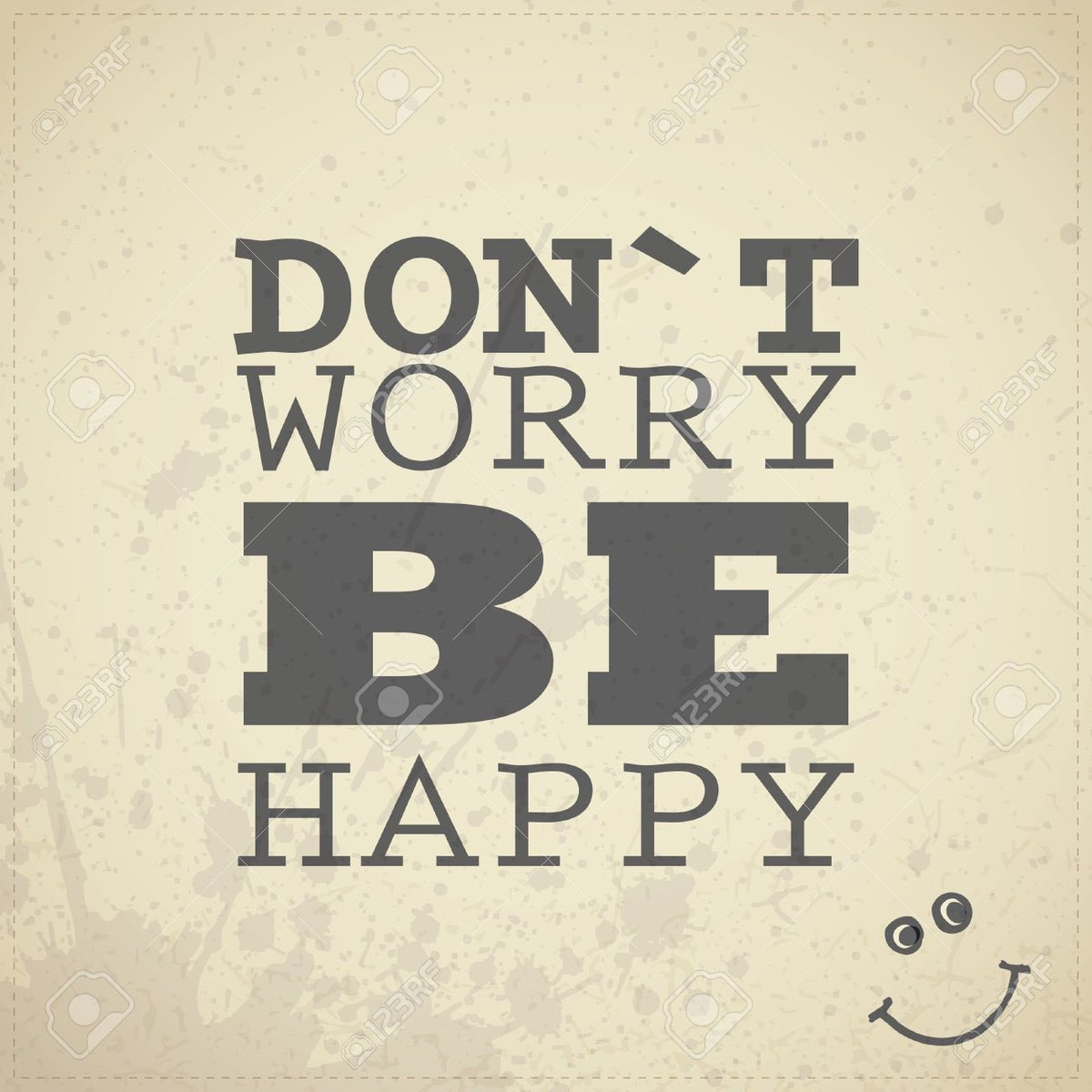 Don&#39;t Worry be happy ! #mantra du jour #citation #quote #happy #happiness #mood<br>http://pic.twitter.com/vt2VZjurZT