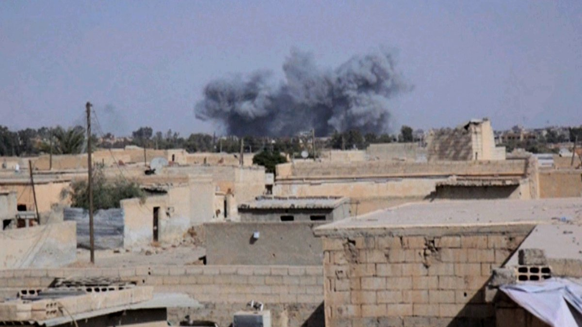 U.S.-Led Coalition Airstrikes Kill Dozens of Civilians in Raqqa, Syria https://t.co/P7dykv55mP