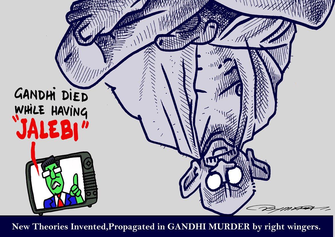 #Gandhimurdertheory Latest News Trends Updates Images - TANMAYATYAGI