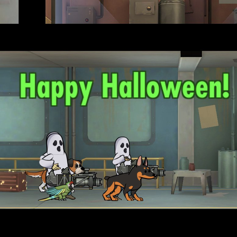having a lot of fun with the bethesda fallout shelter update