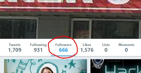 Would someone please #follow me?  I&#39;m stuck at an awkward #number that makes me mildly uncomfortable... @cGt2099  #numberofthebeast<br>http://pic.twitter.com/8A7Z9378Le