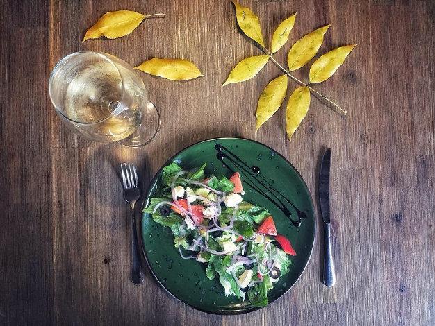 Салат греческий рецепт заправка