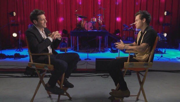 Harry for @CBSSunday interview!!!  #HarryStyles #Harry #Styles #HarryStylesLiveonTour<br>http://pic.twitter.com/2txG5G9cR2