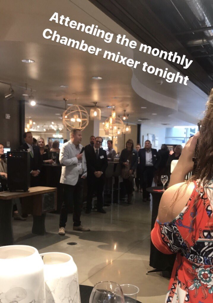 We love our involvement with the @SFAreaChamber!  #siouxfalls #wearehere #monthlymixer