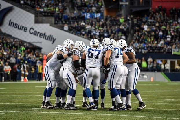 The #Colts' coordinators break down the first quarter of the season:  https://t.co/7hx7am1VnT https://t.co/4qrq4Nlnue