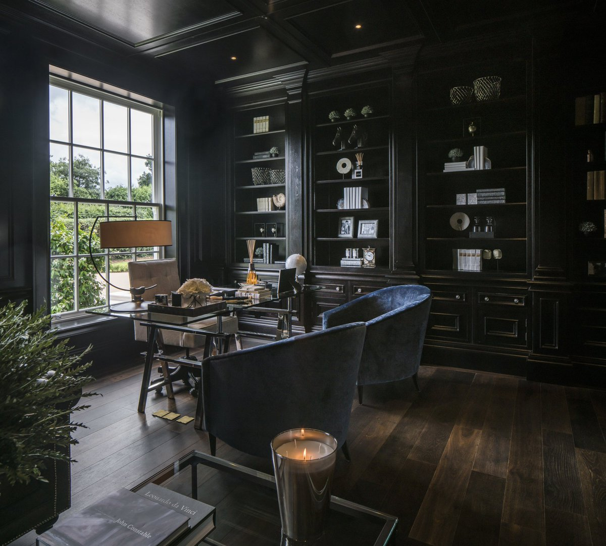 17 Gray Home Office Furniture Designs Ideas Plans: Alexander James (@infoaji)