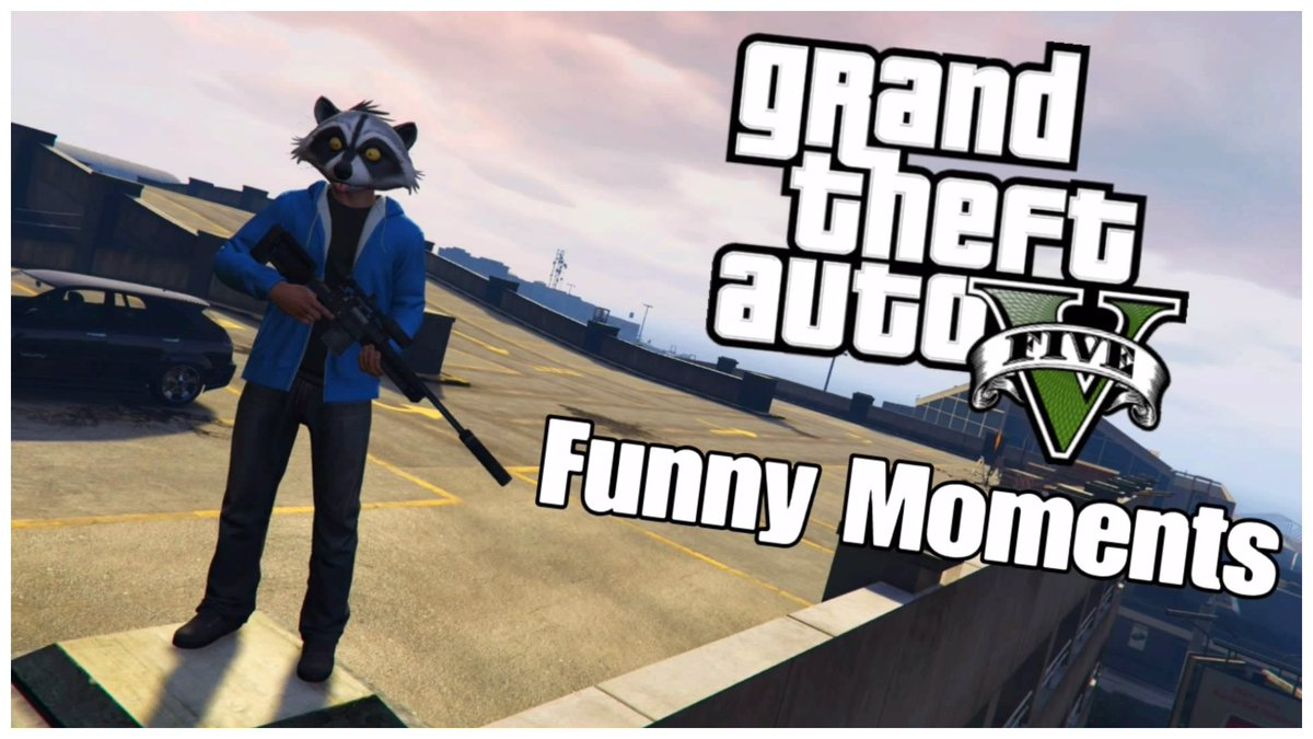 Arttic Wolf On Twitter Gta 5 Funny Moments Thumbnail