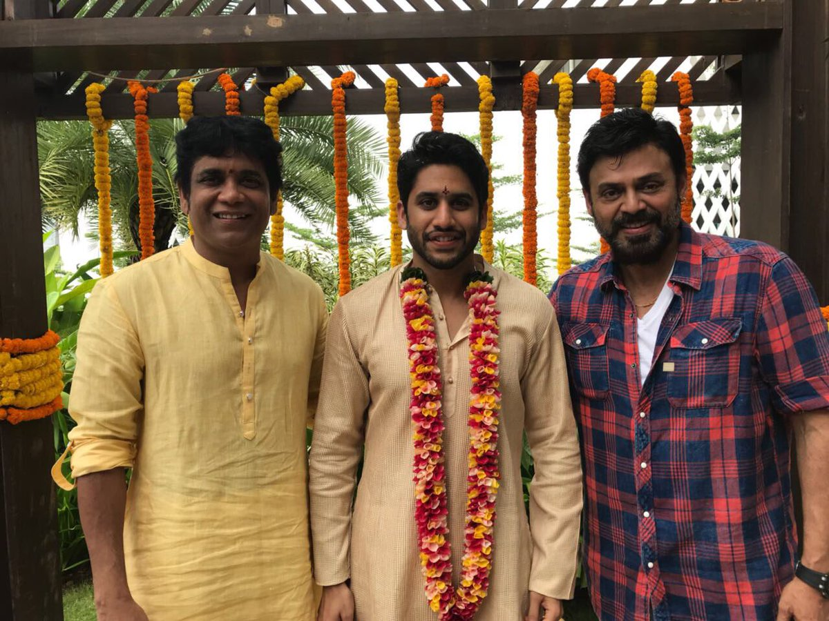 Nagarjuna Akkineni On Twitter Our Boy Is Now A Bridegroom Chaisam