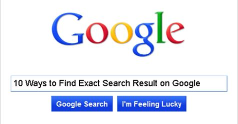10 Ways to Find Exact #SearchResult on Google #Savvyonweb  http://www. savvyonweb.com/blog/10-ways-t o-find-exact-search-result-on-google &nbsp; … <br>http://pic.twitter.com/ZMyUKdQqQM