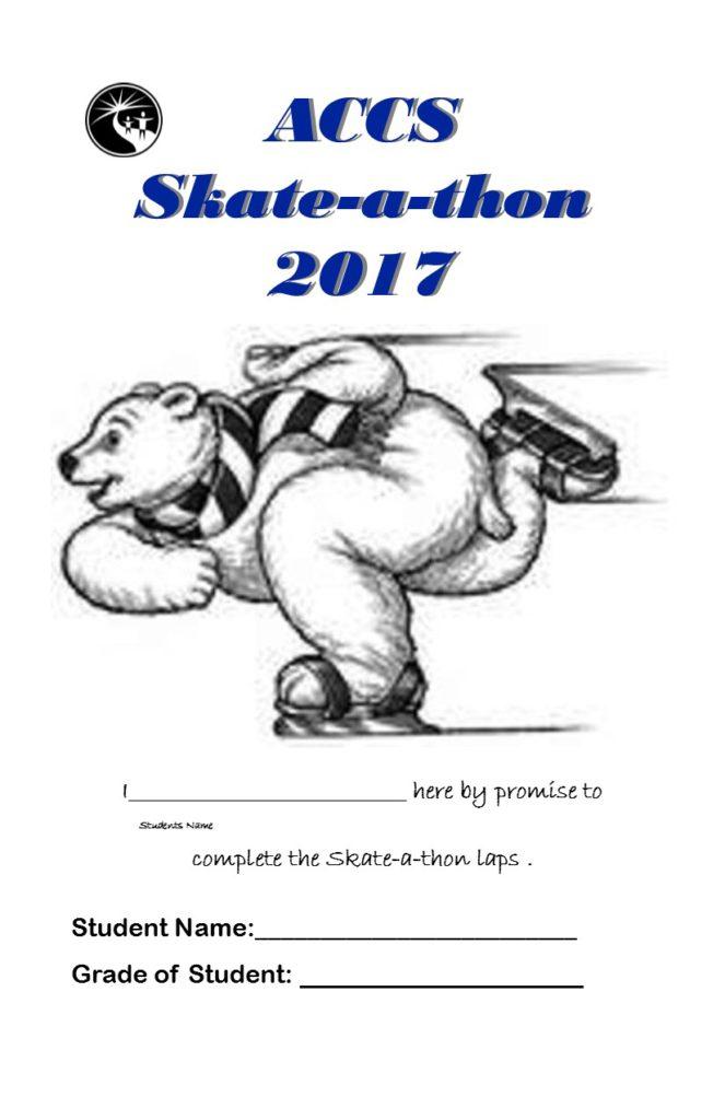 Skate-a-thon Pledge Sheet 2017