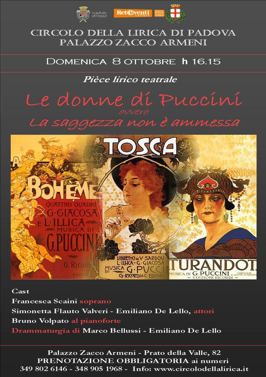 Cantare Lopera On Twitter Le Donne Di Puccini Ovvero La