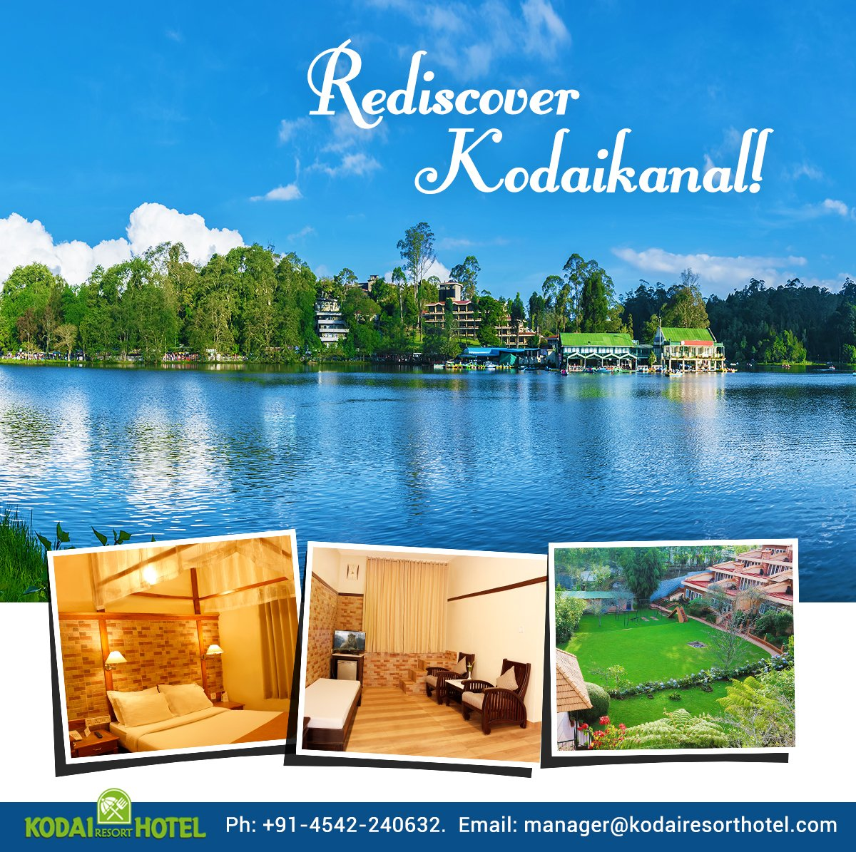 Kodai resort hotel on twitter endowed with the scenic beauty its time to add kodaikanal to your bucketlist enjoy your stay at kodai resort while