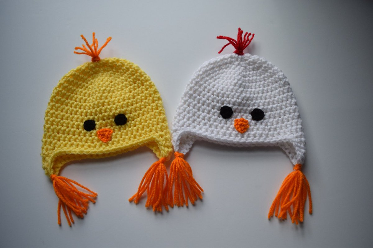 Cins Knits N Things On Twitter Chicken Hat Chick Hat Animal