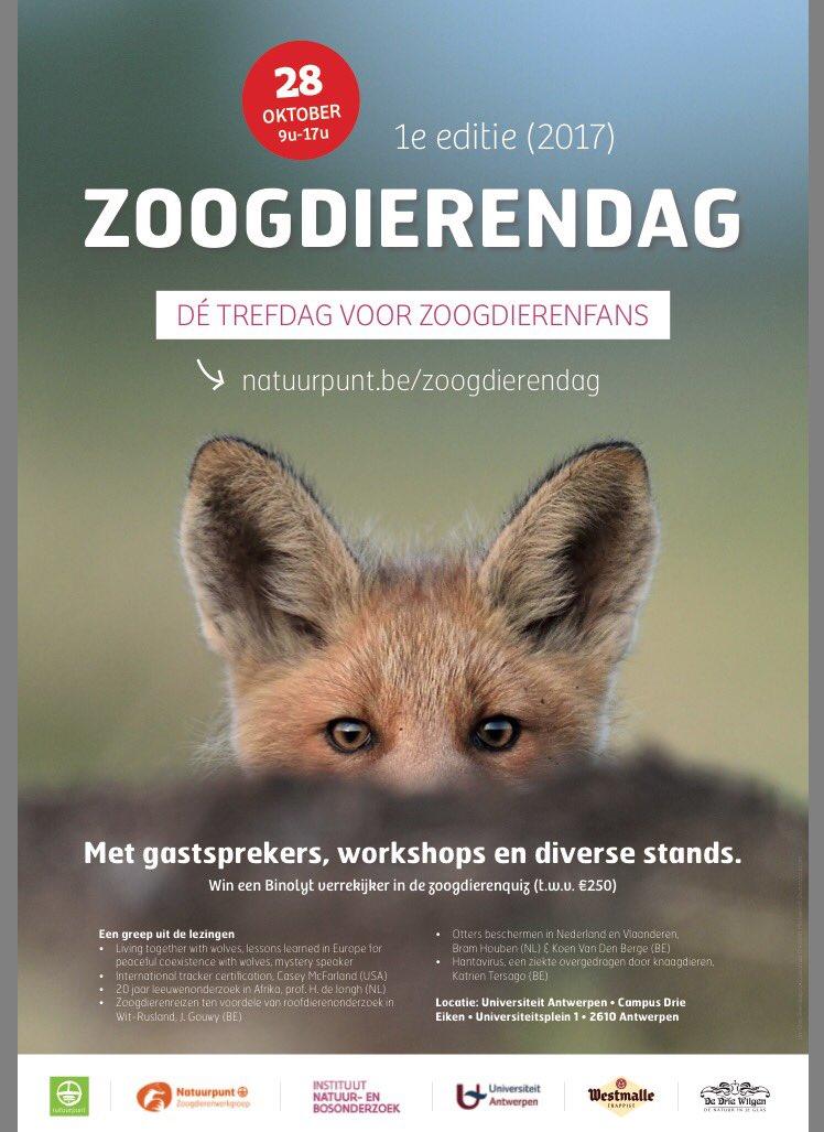 Lastig kiezen: 28/10/2017 - Jubileum #VLEN-dag van @VLEN_NL @Zoogdierverenig & de #Zoogdierendag - 1e editie België: https://www.natuurpunt.be/agenda/zoogdierendag-1e-editie-23757#.Wdc4EyuhrVE.twitter…