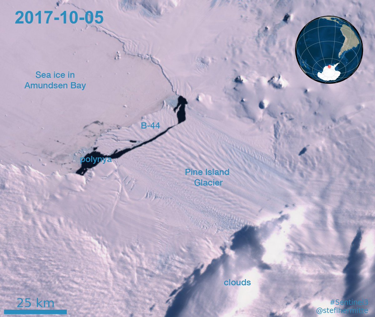 Image result for pine island glacier