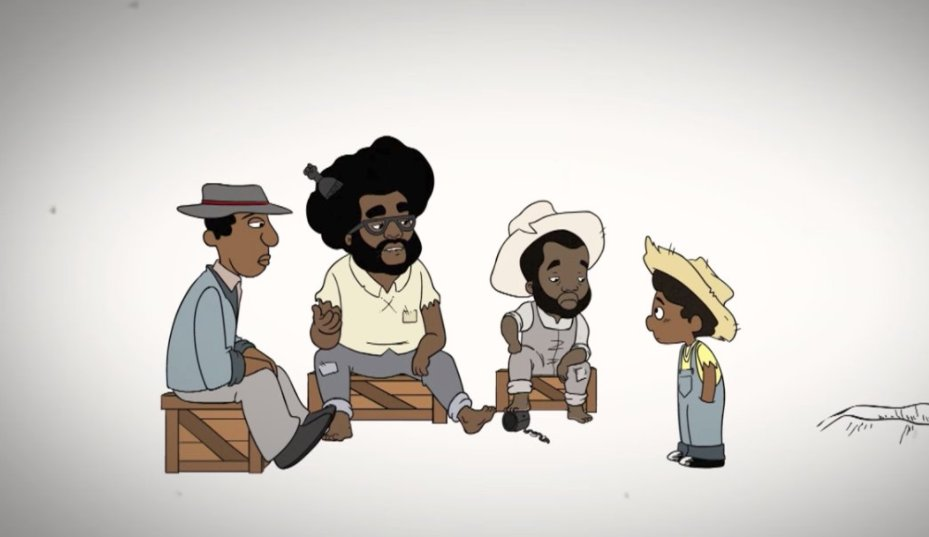 """the roots flipped schoolhouse rock's """"i'm just a bill"""" into a song about the importance of juneteenth for #blackish https://t.co/4js4NUGqh0"""