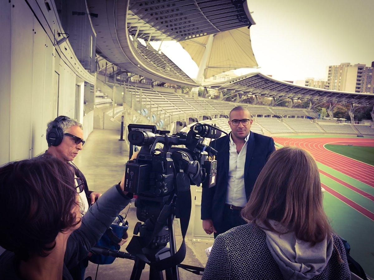 Hier en interview pour @france3  @EAJFPARIS #paris #lille #lyon #marseille #nantes #Football #uneformationunmetier #eajf<br>http://pic.twitter.com/ke8cytQ8A5