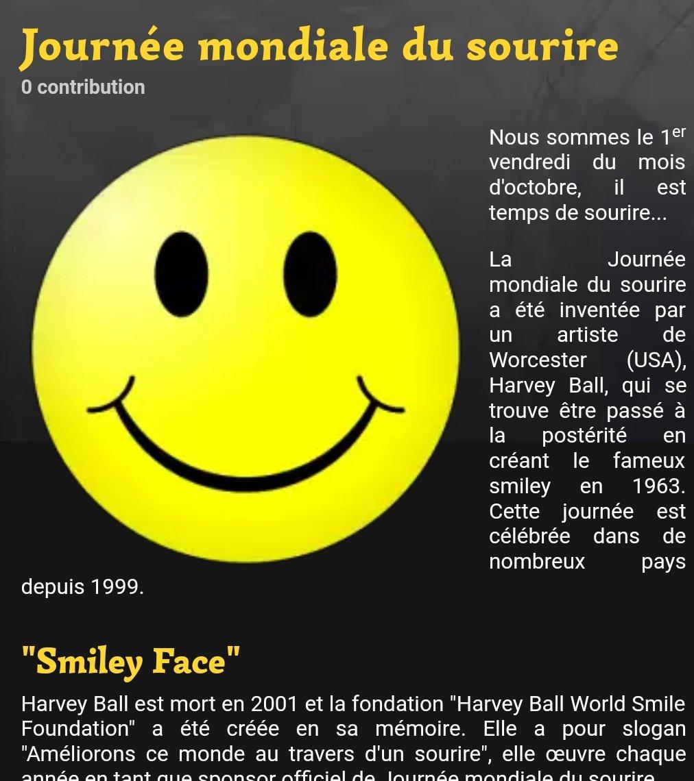 #SmileMoreForAGoodDay #JourneeMondialeDuSourire   Offrez le votre sans compter Be Happy #FF #ligue_des_optimistes <br>http://pic.twitter.com/4DboCNBdyL