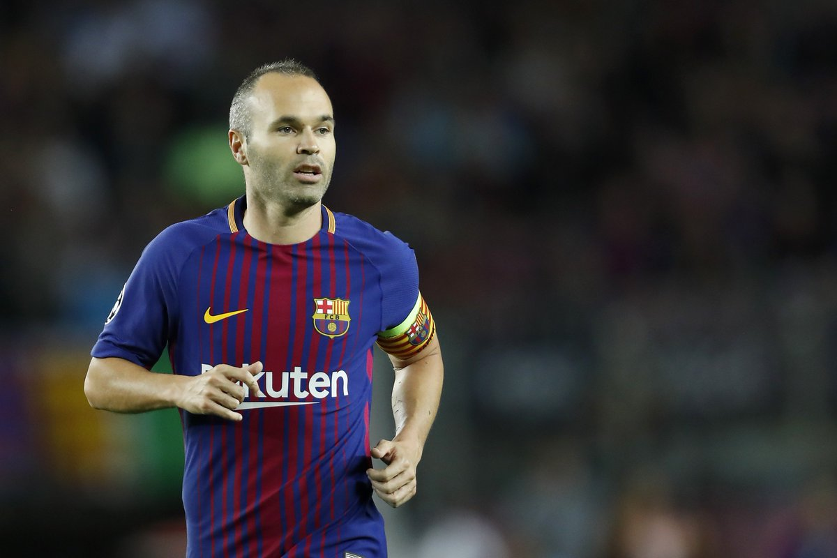 Andres Iniesta will never leave Barcelona