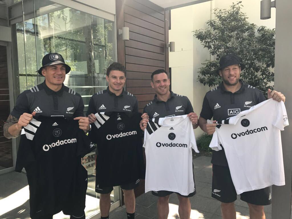 From one iconic team to another. @allblacks & @orlandopirates are always creating. #HereToCreate https://t.co/HdMHMnfWlu
