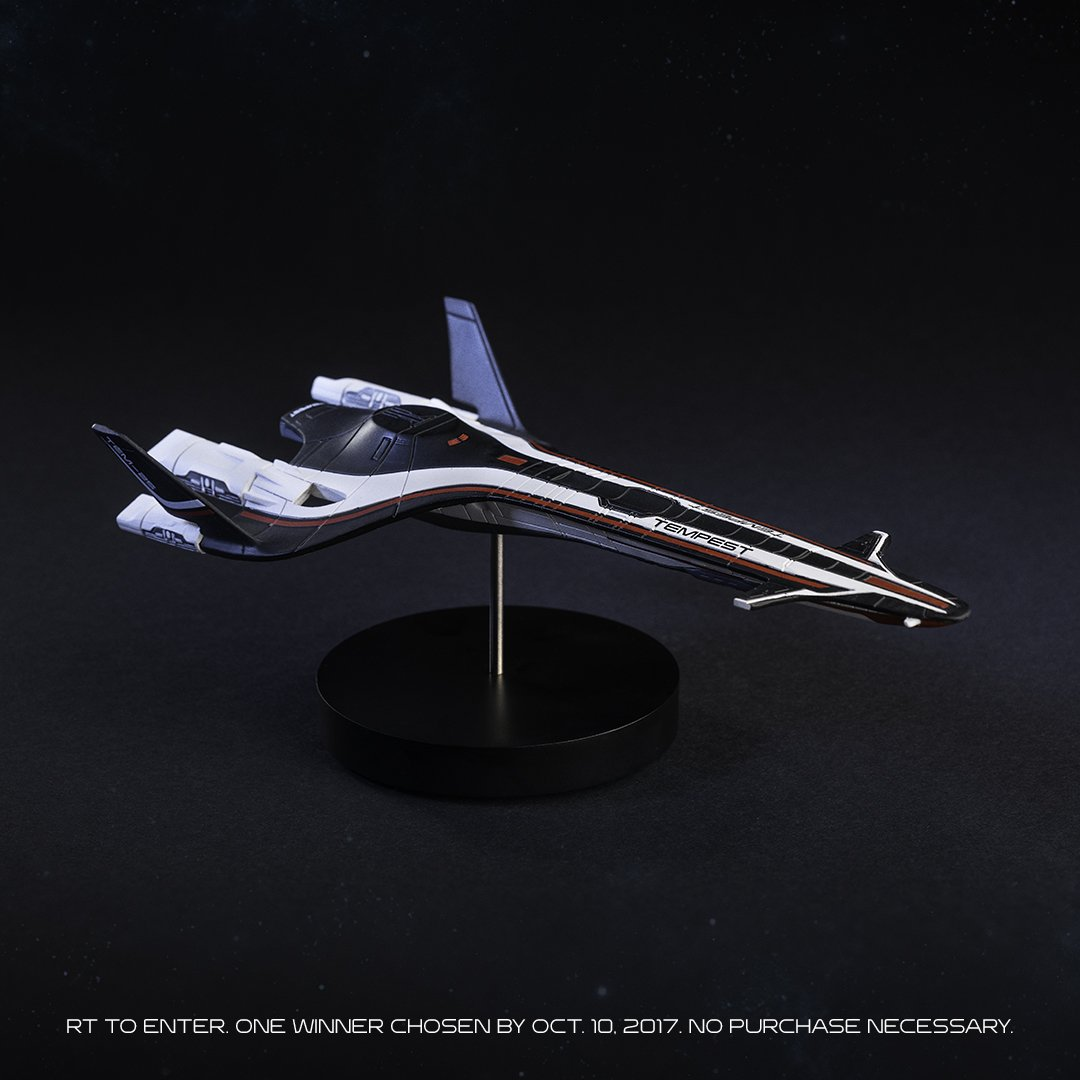 To celebrate #WorldSpaceWeek, we're giving away a Tempest replica. RT to enter. https://t.co/I79jOeNbbT