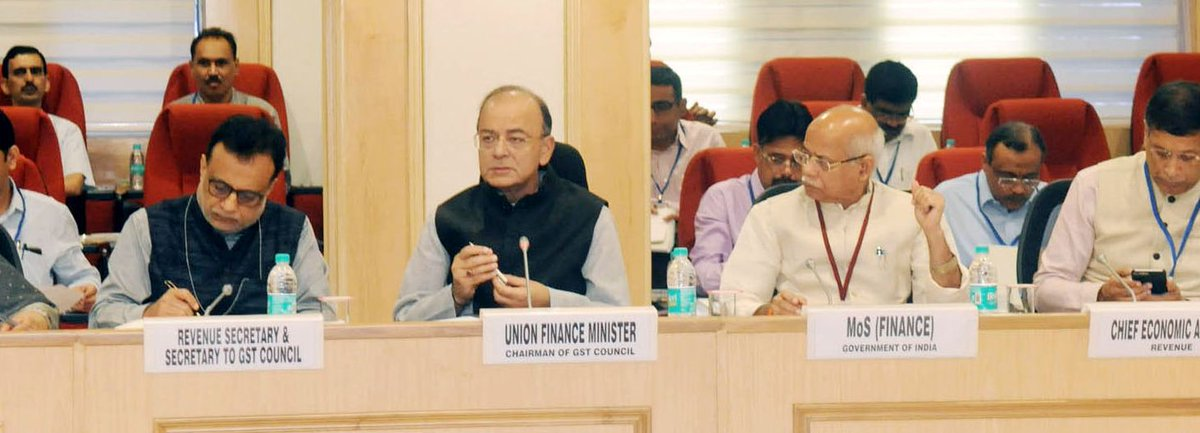 Official note on recommendations made by the GST Council in its 22nd meeting