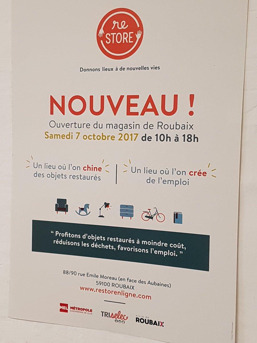 Maison De Lemploi On Twitter Ouverture Du Magasin Restore A Roubaix Travail Conjoint Entre Le Plie Et Notamment Le Centre Social Alma Pour  Embauches