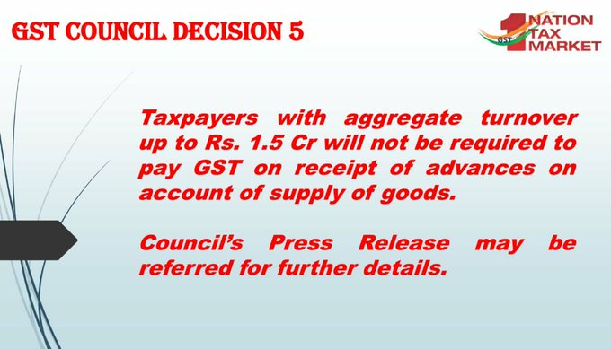 GST Council Decision 5