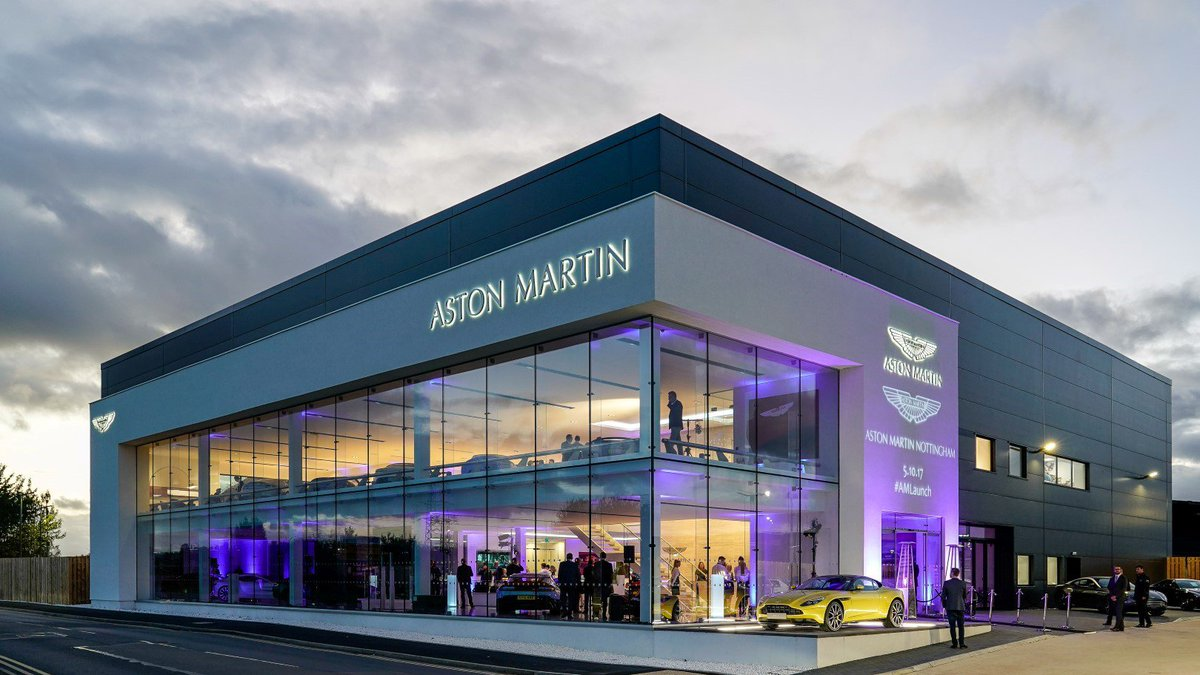 Aston Martin On Twitter NEWS Welcoming Astonmartinnott Our - Aston martin dealerships