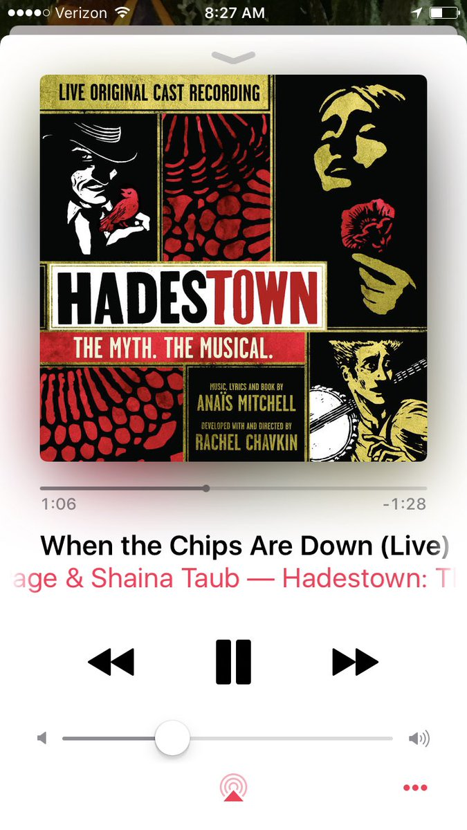 Shaina Taub On Twitter The Hadestown Cast Album Is Here